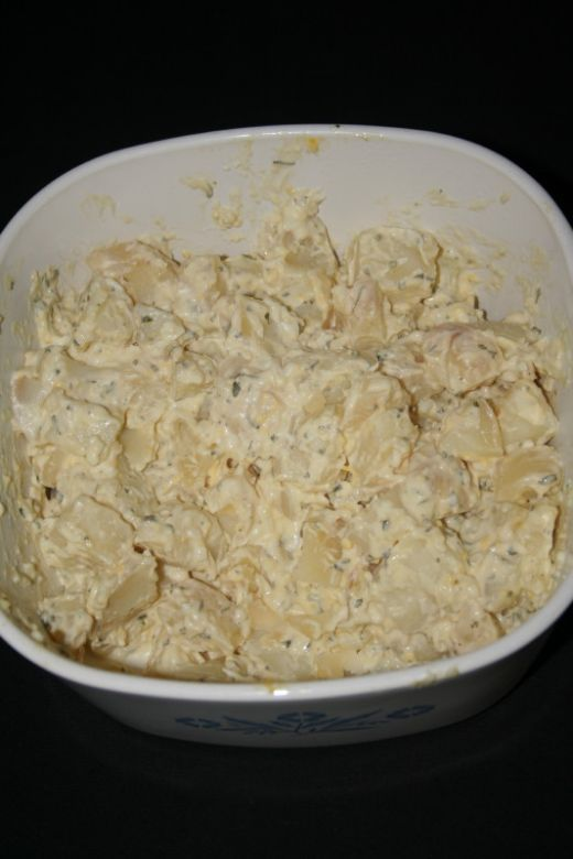 South African Potato Salad Recipe Easy