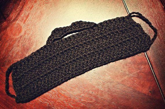 Beard Handlebar Mustache Crochet Pattern Pdf Tutorial Men Adult