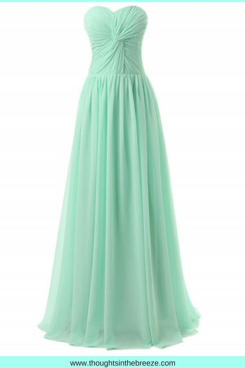 Women\'s Elegant Knot Front Strapless Prom Dress Looking for an ...