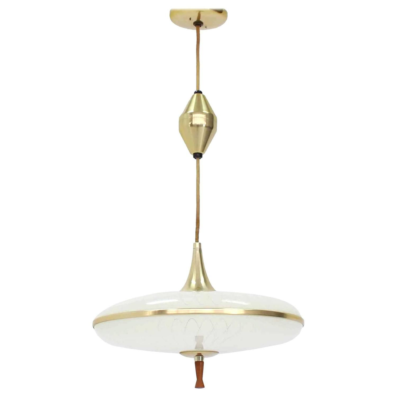 Retractable Adjustable Height Light Fixture From A Unique