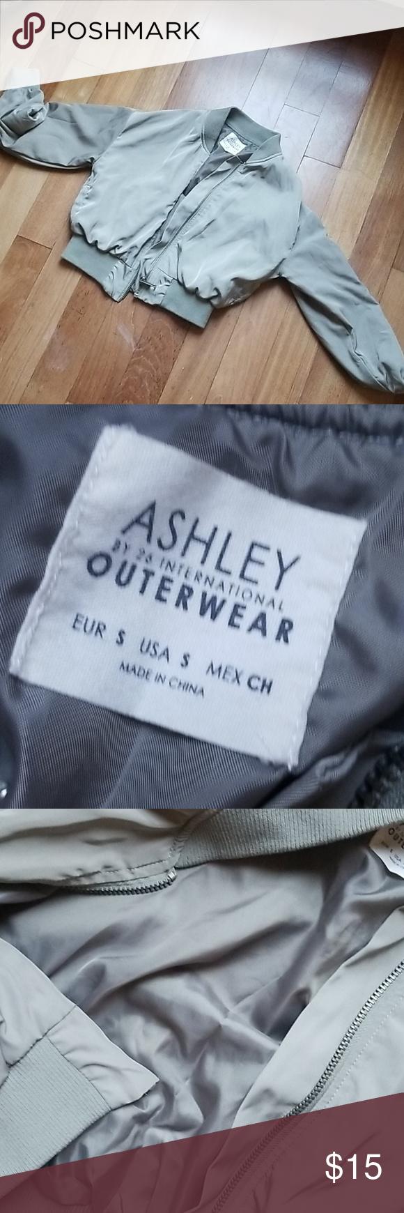 Ashley Outerwear By 26 International Green Zip Ups Outerwear Ashley [ 1740 x 580 Pixel ]