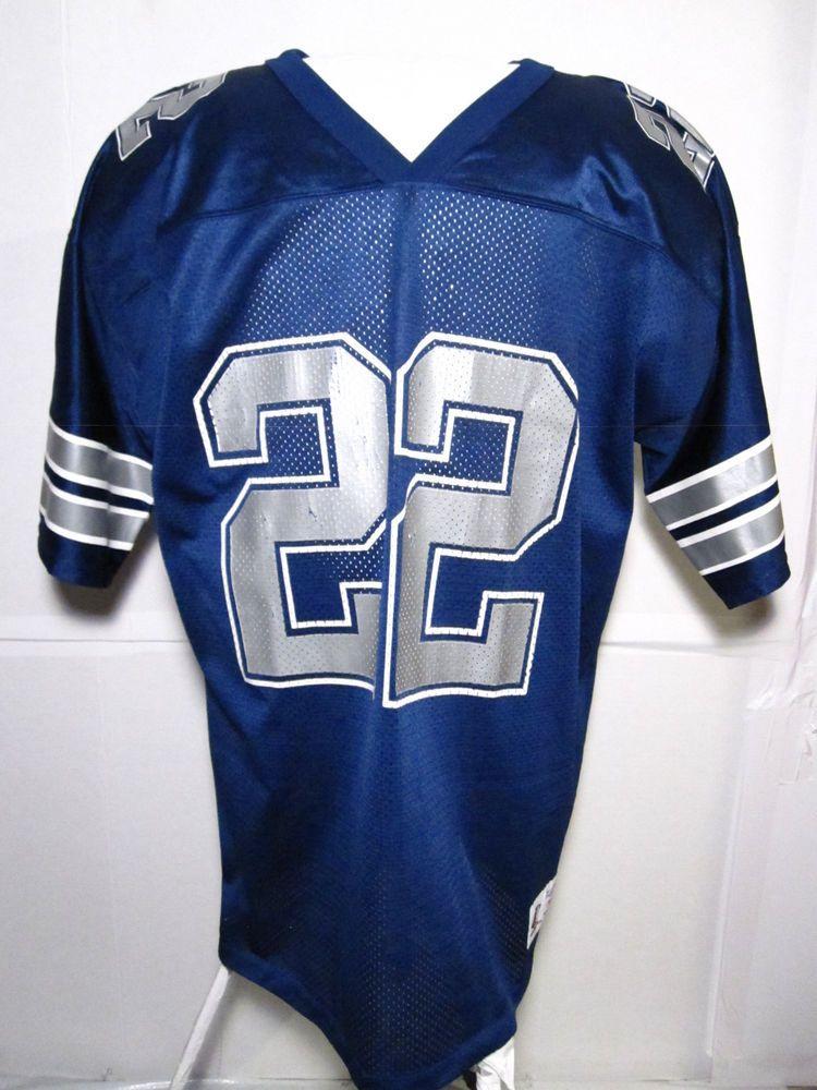 sale retailer 172a6 5d35d Vintage Dallas Cowboy Emitt Smith Logo Athletic's Football ...