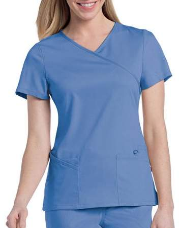 facdb04b2b5 Landau Uniforms Urbane by Landau Women's Sophie Crossover Scrub Tunic Top