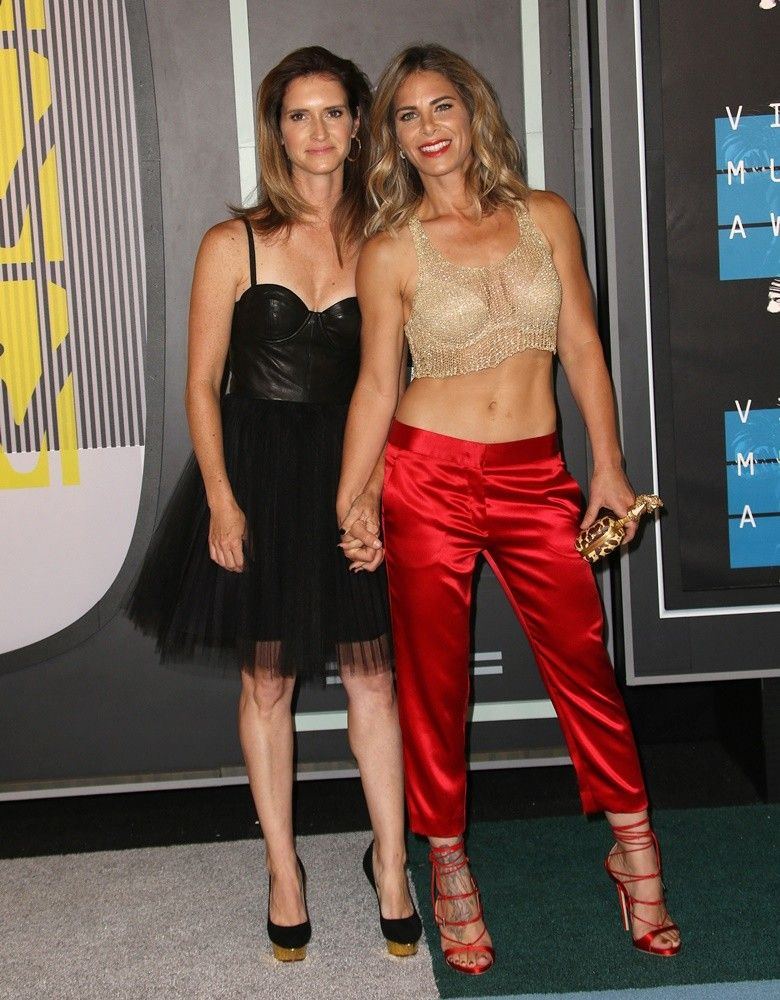 from Byron jillian michaels and her girlfriend see through