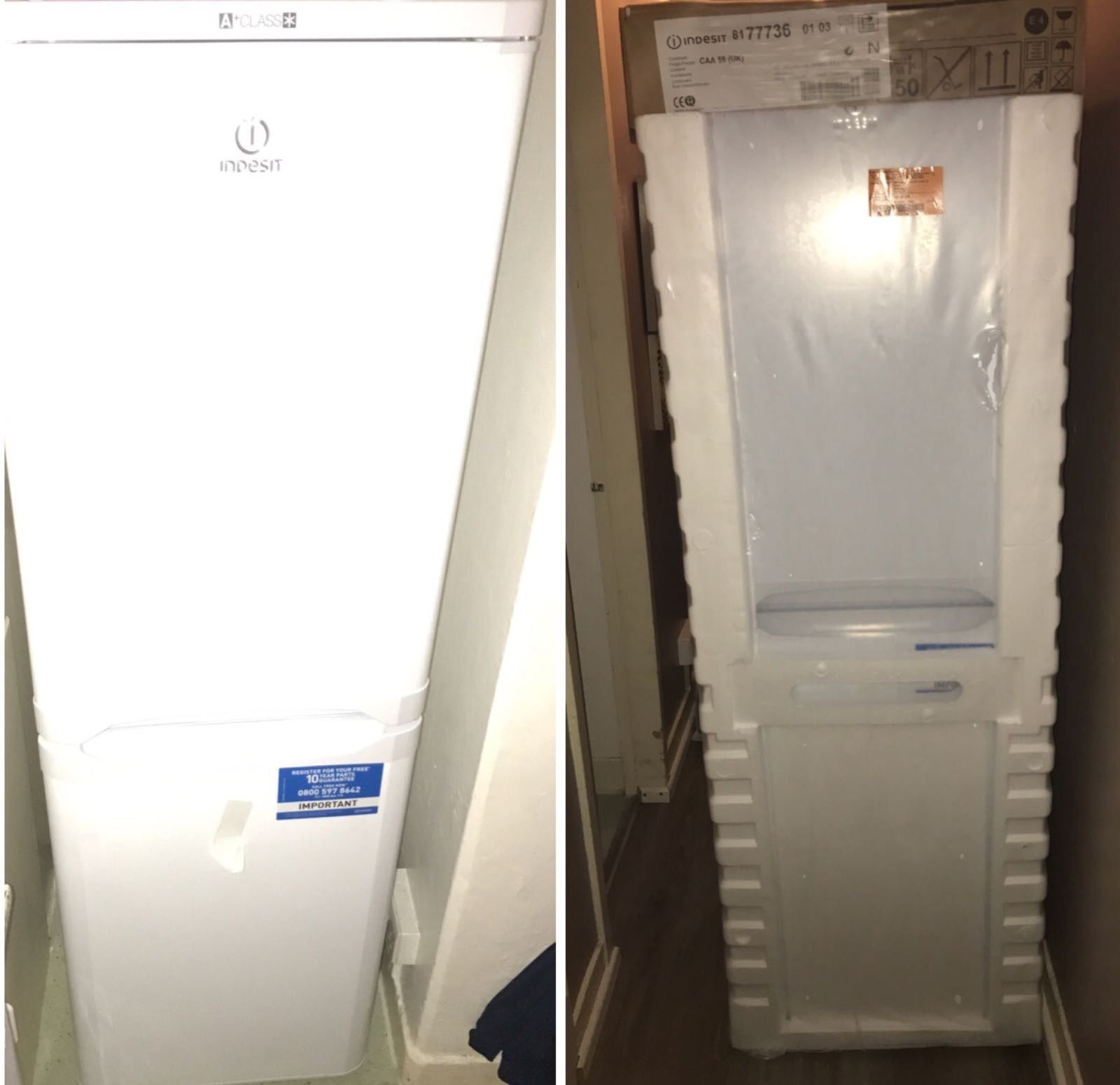 Indesit CAA 55 234L Bottom Freezer FRIDGE COLD WHITE BARGAIN CHRISTMAS  https://t.co/uZTQix4Pzm https://t.co/7a10C90taB