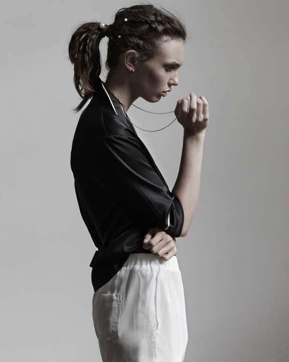 Sleepwear-Inspired Fashion  pajama look b28ccffb3