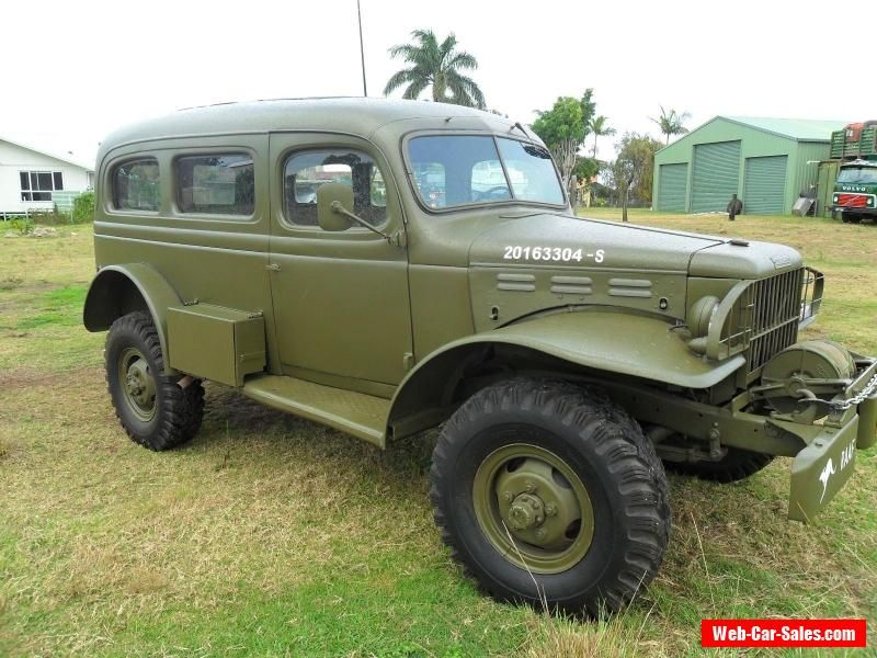 Dodge 1942 Carryall 4x4 #dodge #wc53carryall #forsale #australia ...