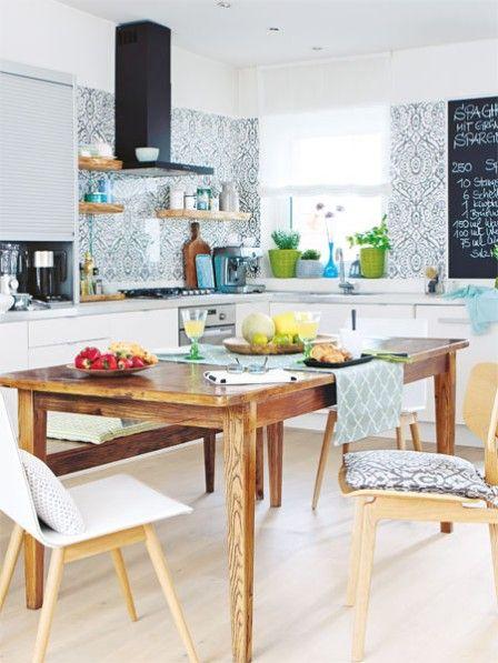 vorher nachher wohnk che umbauen eine k che wird zur koch oase wohnideen. Black Bedroom Furniture Sets. Home Design Ideas