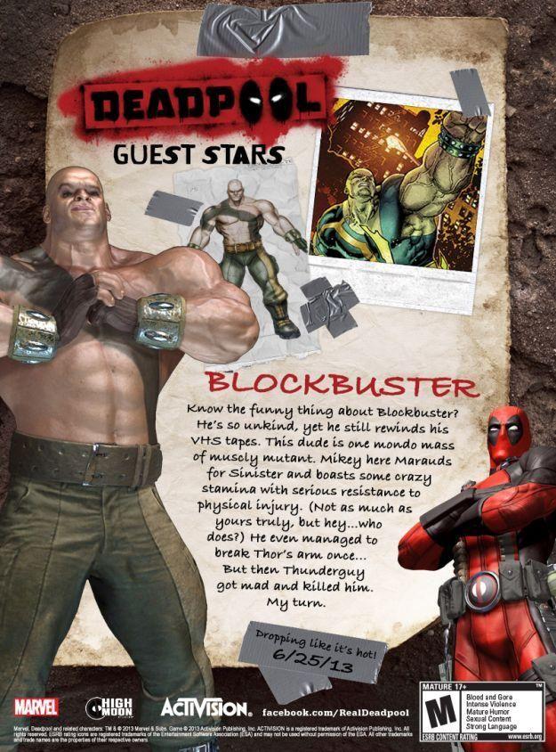 Il videogame uscirà la prossima estate per PS3 e Xbox 360. Deadpool accetta di assassinare un potente signore dei media proprietario di un canale televisivo che ...