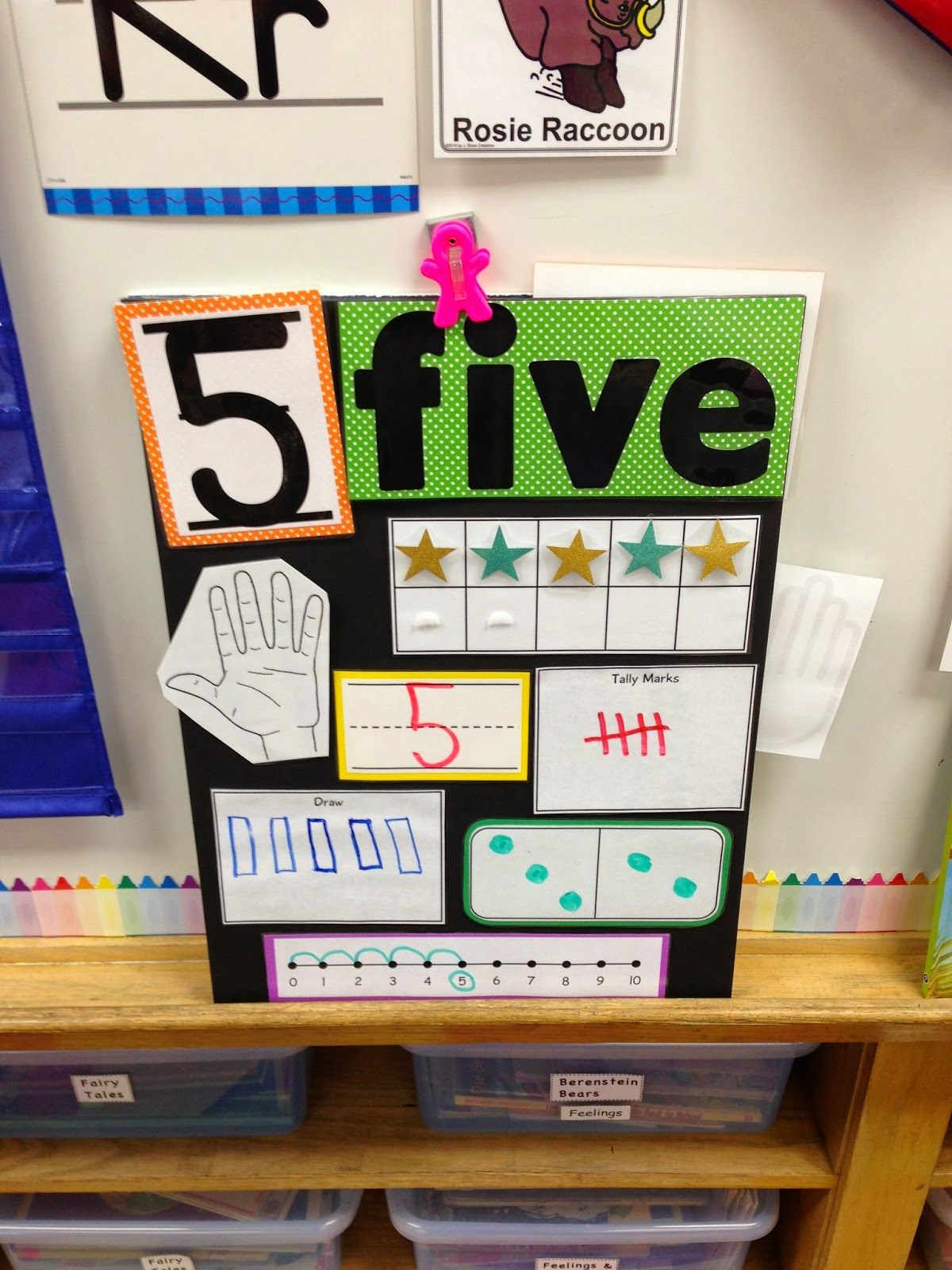 A Spoonful of Learning: Number 5 with Five Little Ducks #number5