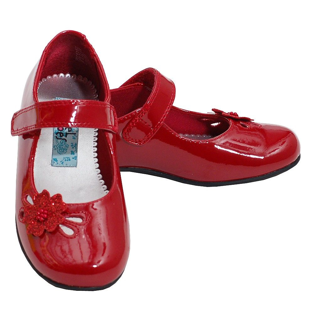 Little Girls Red Dress Shoes | Shoes | Pinterest | Sparkle, Fit ...
