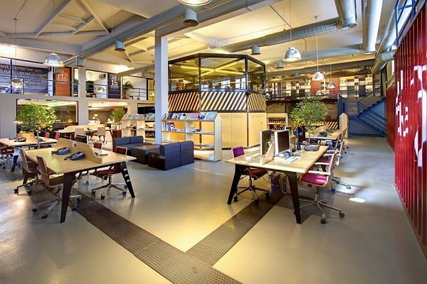 The Youth Republic Office Interior Design From An Older Atelier