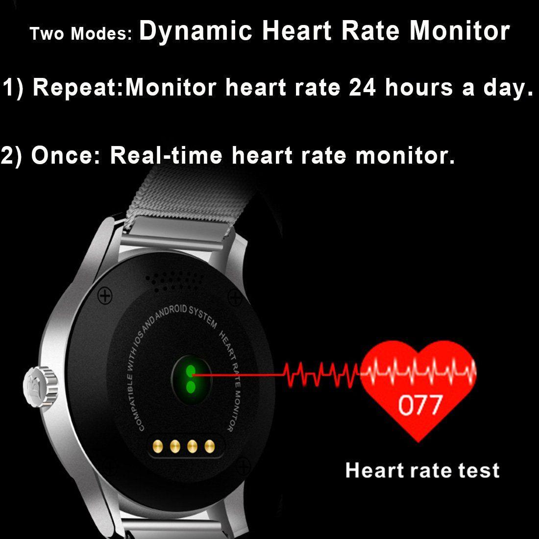 SMA09 Smart Fitness Tracker WatchBluetooth Heart Rate