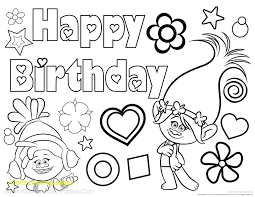 Image result for trolls coloring pages | Birthday coloring ...