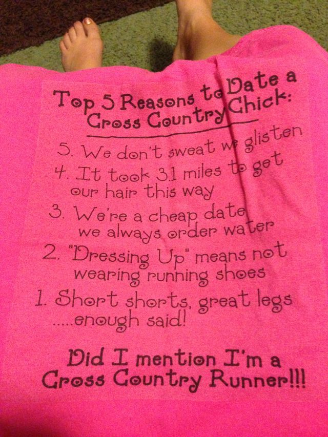 dating cross country runner)