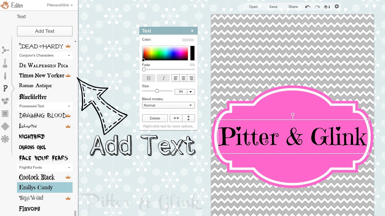 PitterAndGlink: {Create a Personalized Lock Screen with PicMonkey}