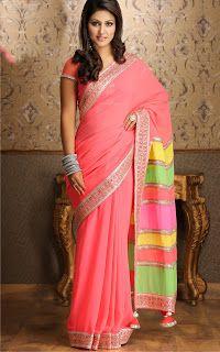 Stylish akshara saree collection