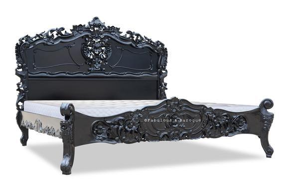 Best Fabulous Rococo Black Lacquer Rococo Furniture 400 x 300