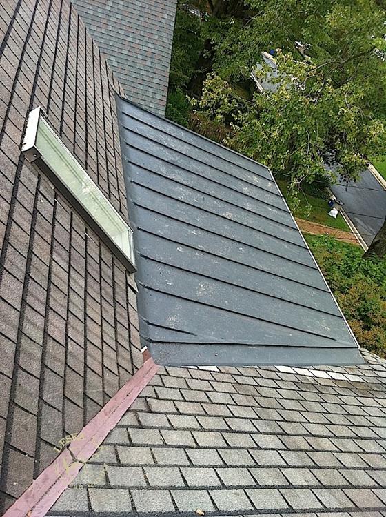 Leska Llc Silver Spring Md Metal Roof Metal Roofing Flat Roof Metal Roof Flat Roof Standing Seam Metal Roof