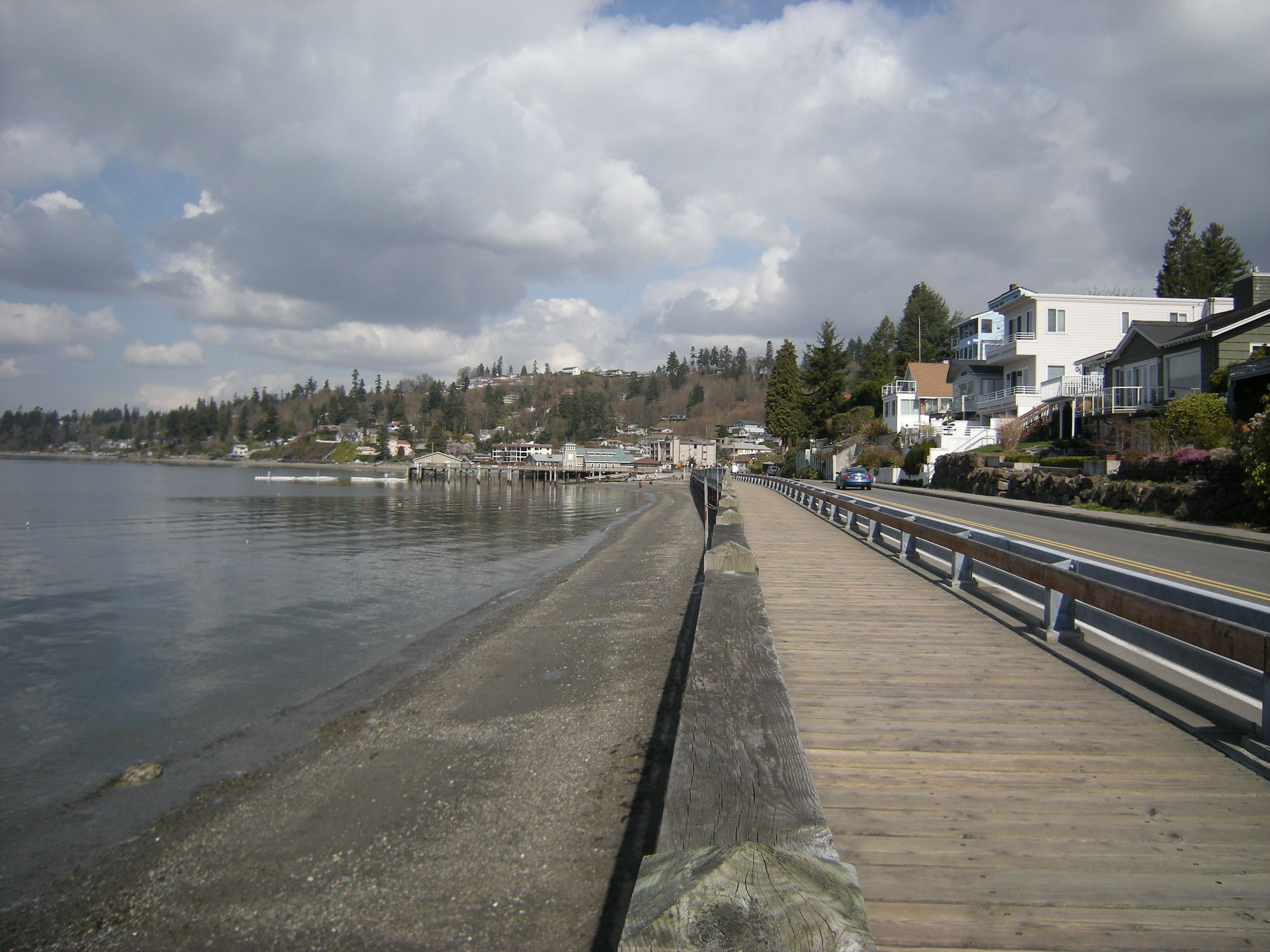 Scenic Boardwalk At Redondo Beach Which Has Its Own Small Pier And Boat Launch Salty S