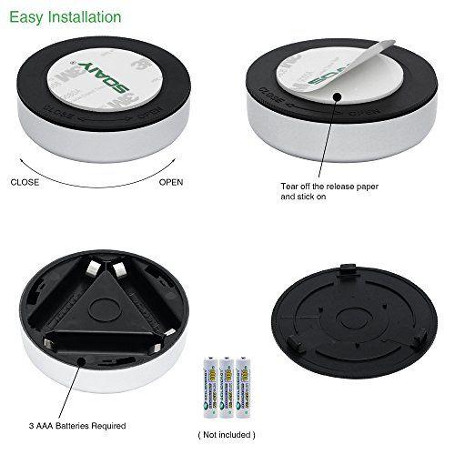 SOAIY® 5er-Set Stick&Push LED Touch Lampe Nachtli | Amazon | Pinterest