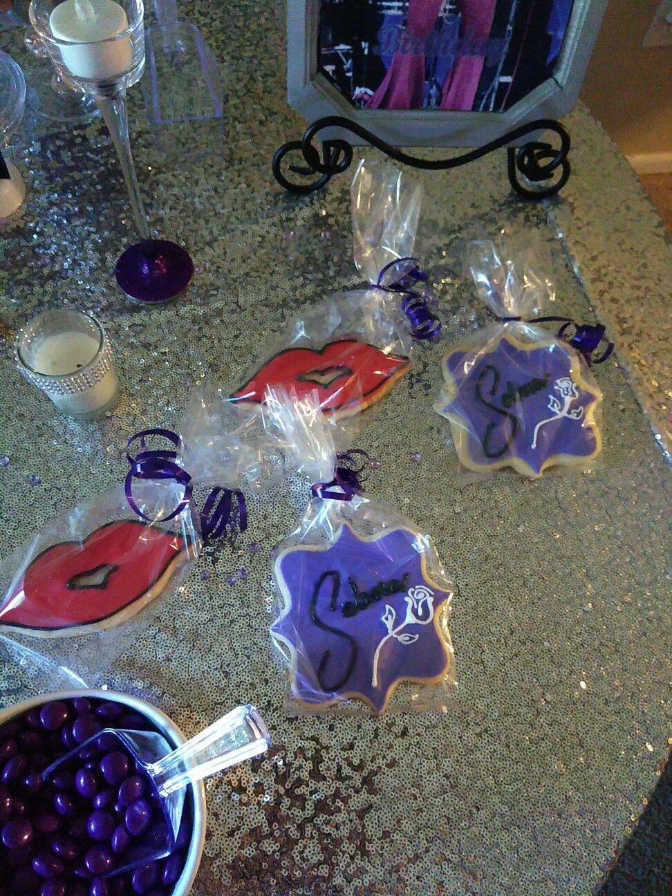 Selena Theme cookies Selena quintanilla birthday