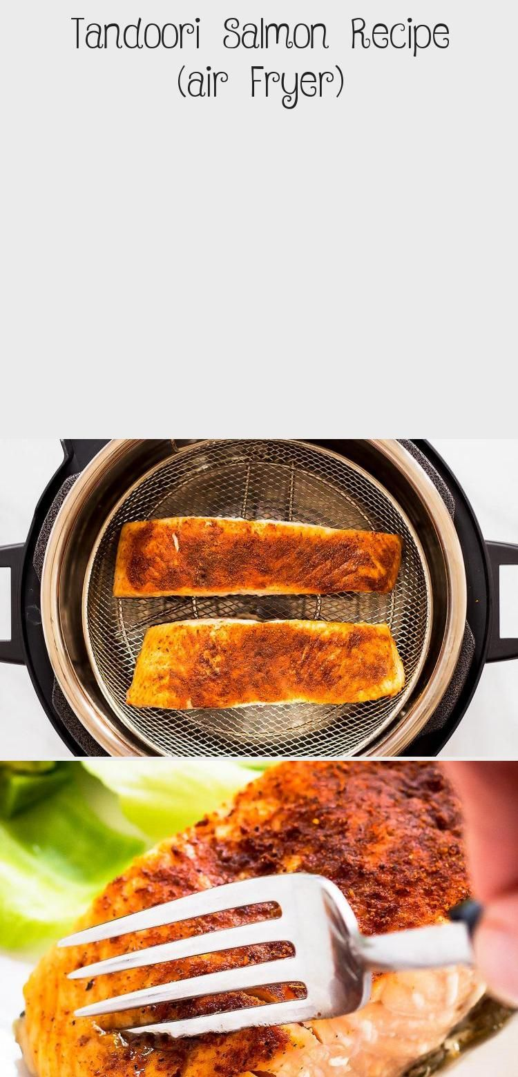 This delicious Tandoori Salmon is cooked to perfection in