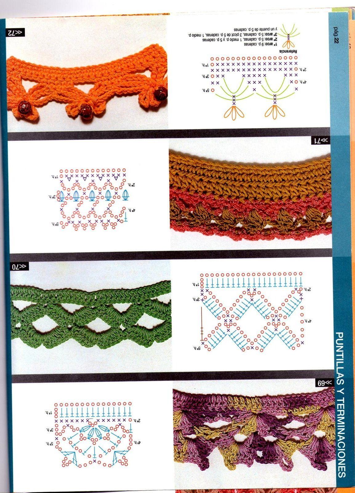 crochet #pattern #patterns #knit #puntos #stitches | C r o c h e t ...