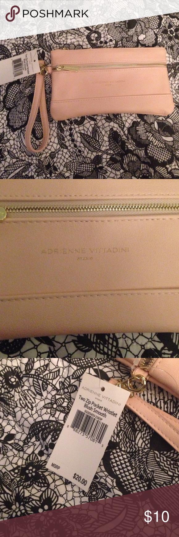 Adrienne vittadini wristlet BrNd new with tags Adrienne Vittadini ...