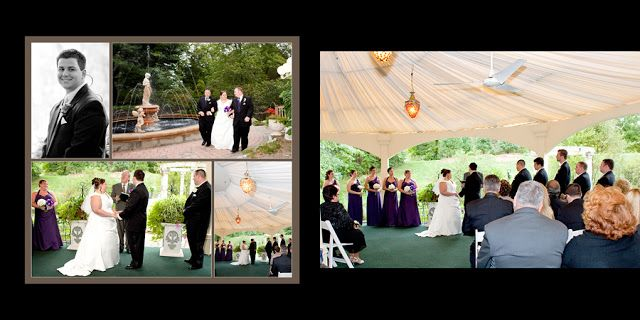 Outdoor Wedding Album Design