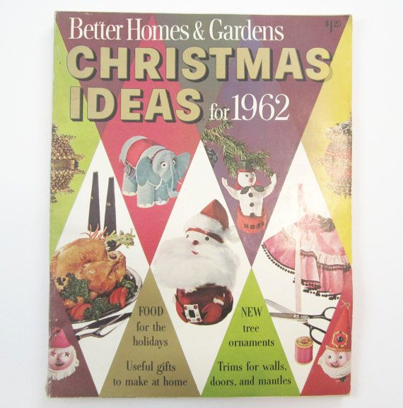 Better Homes And Gardens Craft Ideas Part - 25: 1962 Better Homes Gardens Christmas Ideas For By Plaidpearls, $11.99