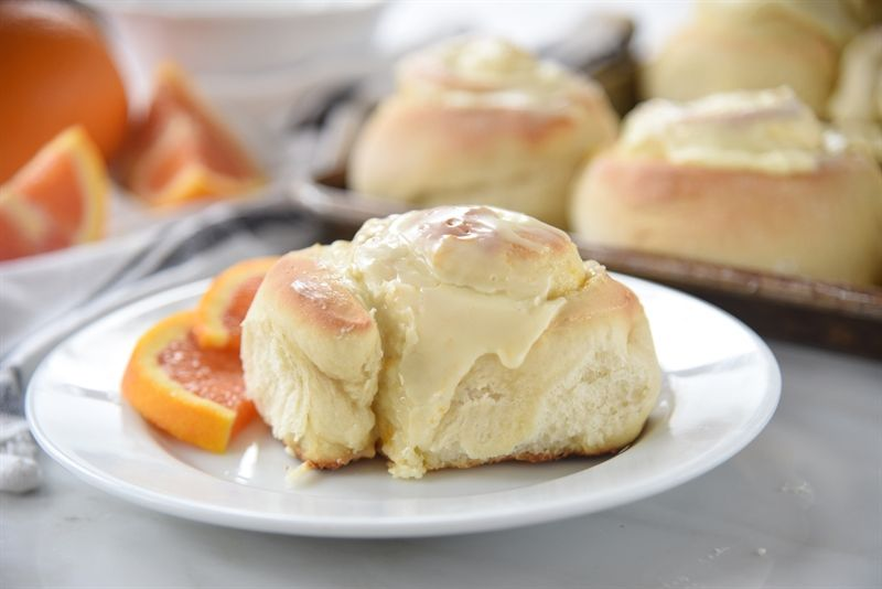 60 Minute Orange Rolls are as quick, easy and delicious as they sound.