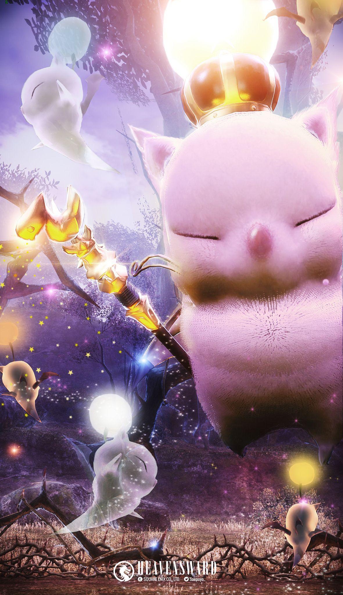 善王モグル モグxii世 Final Fantasy Art Final Fantasy Xiv Final Fantasy