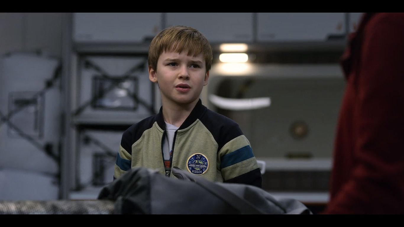 Max Jenkins as Will Robinson in season 1, episode 3 of Lost in Space