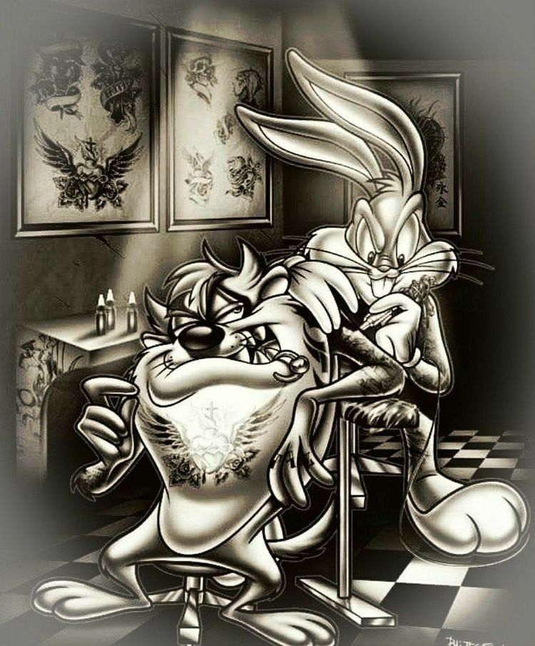 Barmetal Girly Cowgirl-Tattoo Style