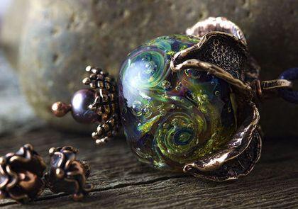 Небесный урожай 1 - бохо,бохо-стиль,бохо украшения,Анна Черных,кулон,подвеска