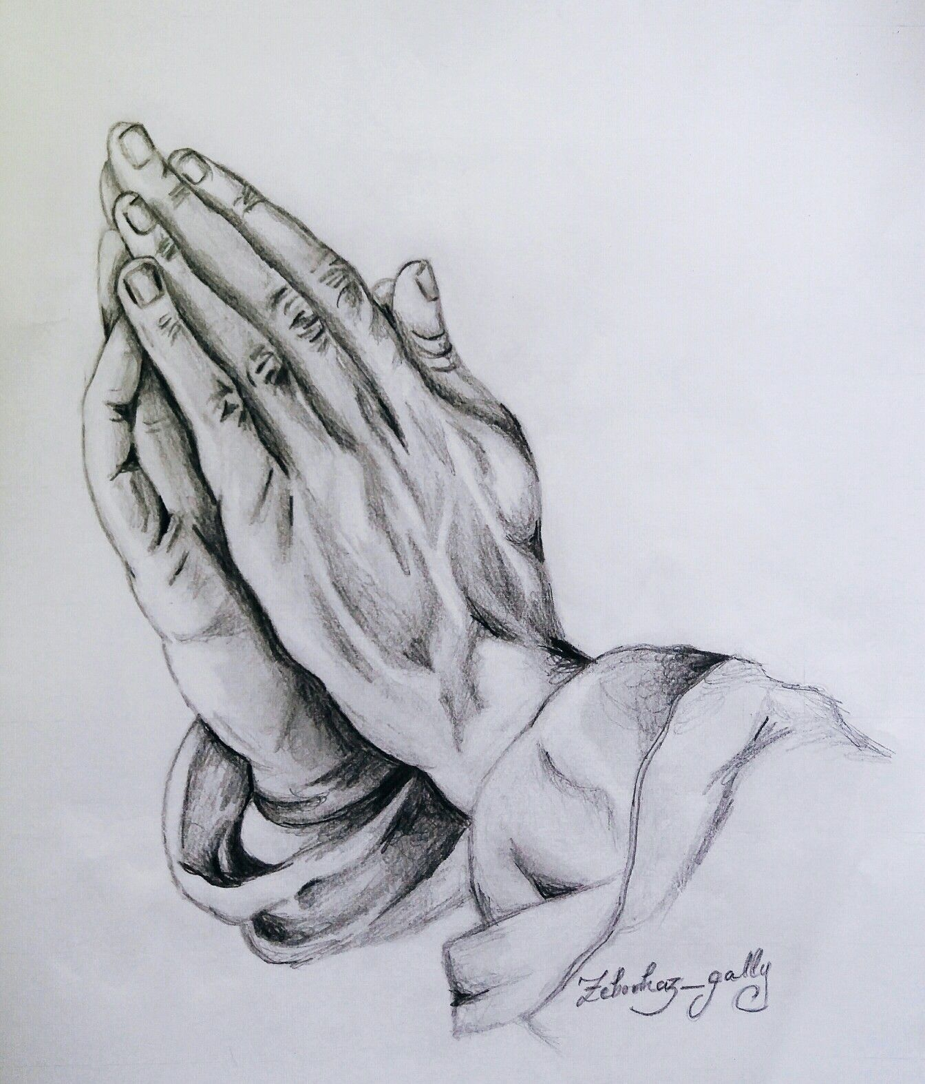 Praying hands god sketch art artwork drawing pencil art zeborhaz gallery