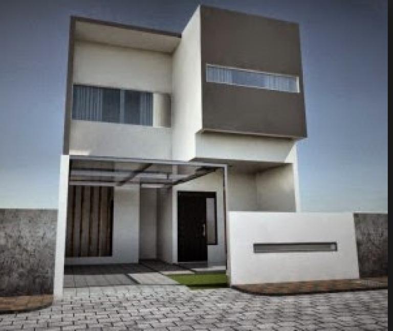80 Desain Rumah Minimalis 2 Lantai 6x15 Terbaru Rumah