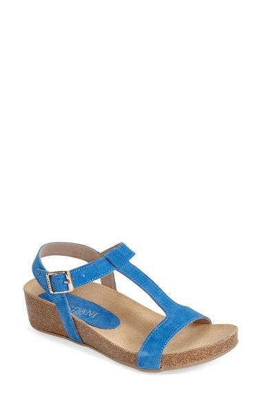 cd6542c280e4f0 Free shipping and returns on Cordani  Georgie  T-Strap Sandal (Women) at  Nordstrom.com. A lush T-strap silhouette defines a versatile sandal crafted  with a ...