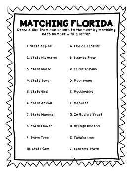 Florida Word Puzzle BUNDLE
