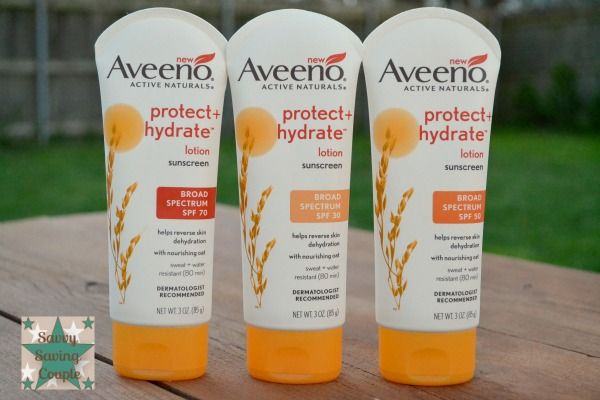 Enjoy the Sun Safely Thanks to Aveeno Active Naturals Broad Spectrum Sunscreen