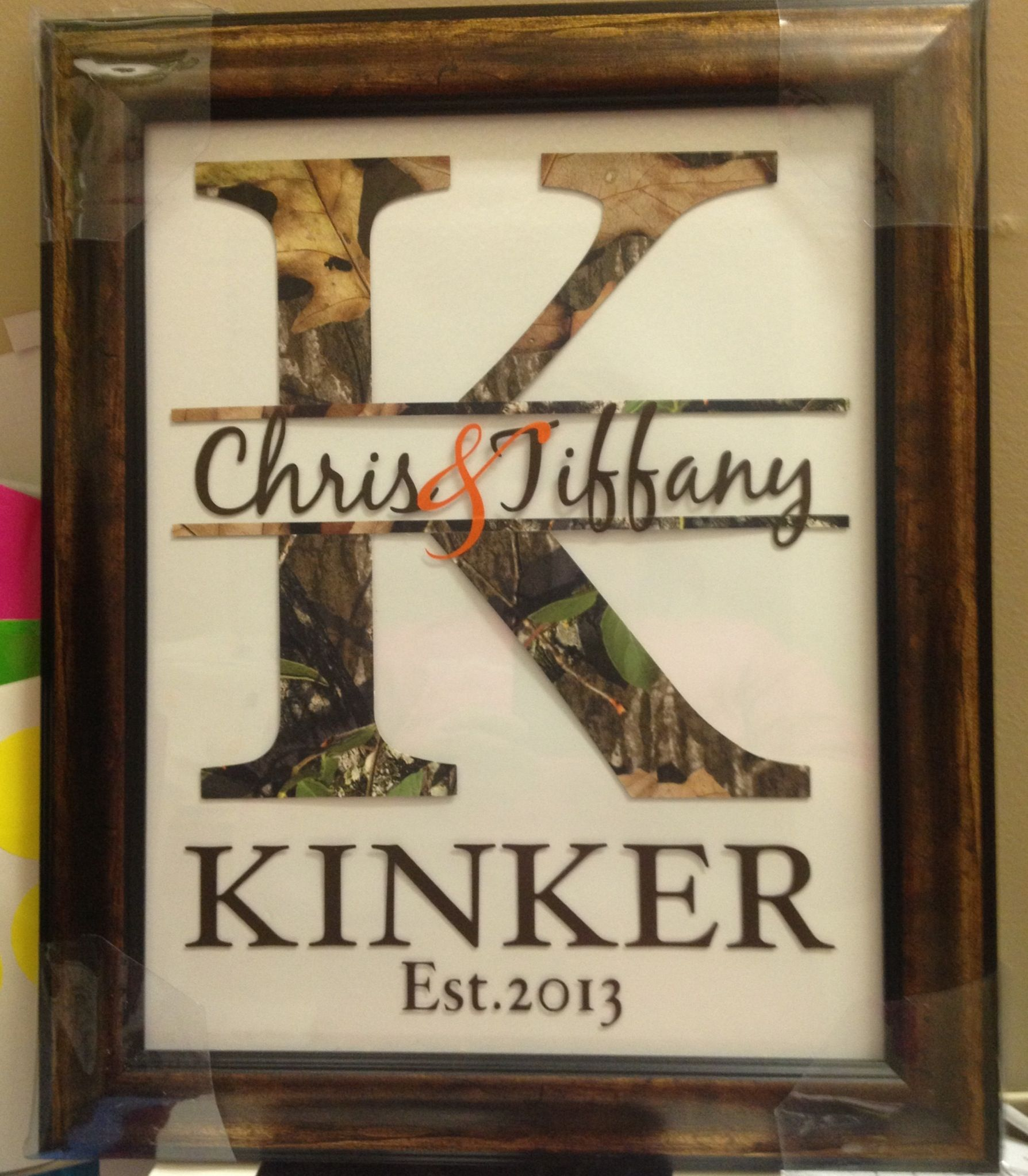 For the hunting couple   Camo Weddings   Pinterest ...