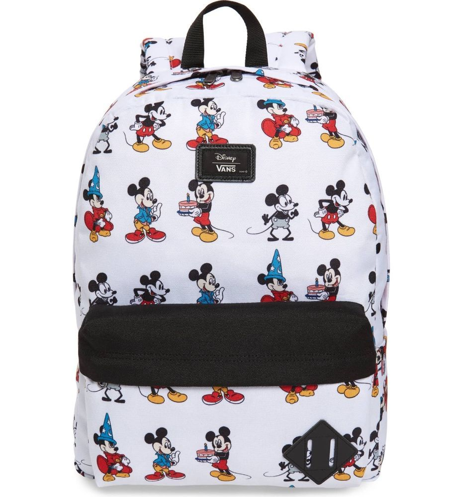Vans Disney 90 Anniversary Mickey Mouse Shoes Backpacks