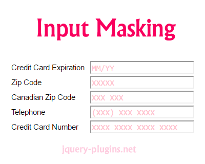 Mask Input