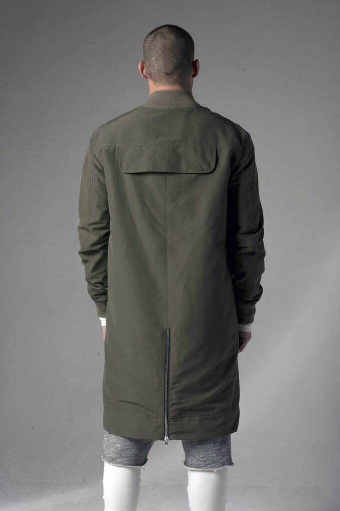 Long bomber jacket kanye