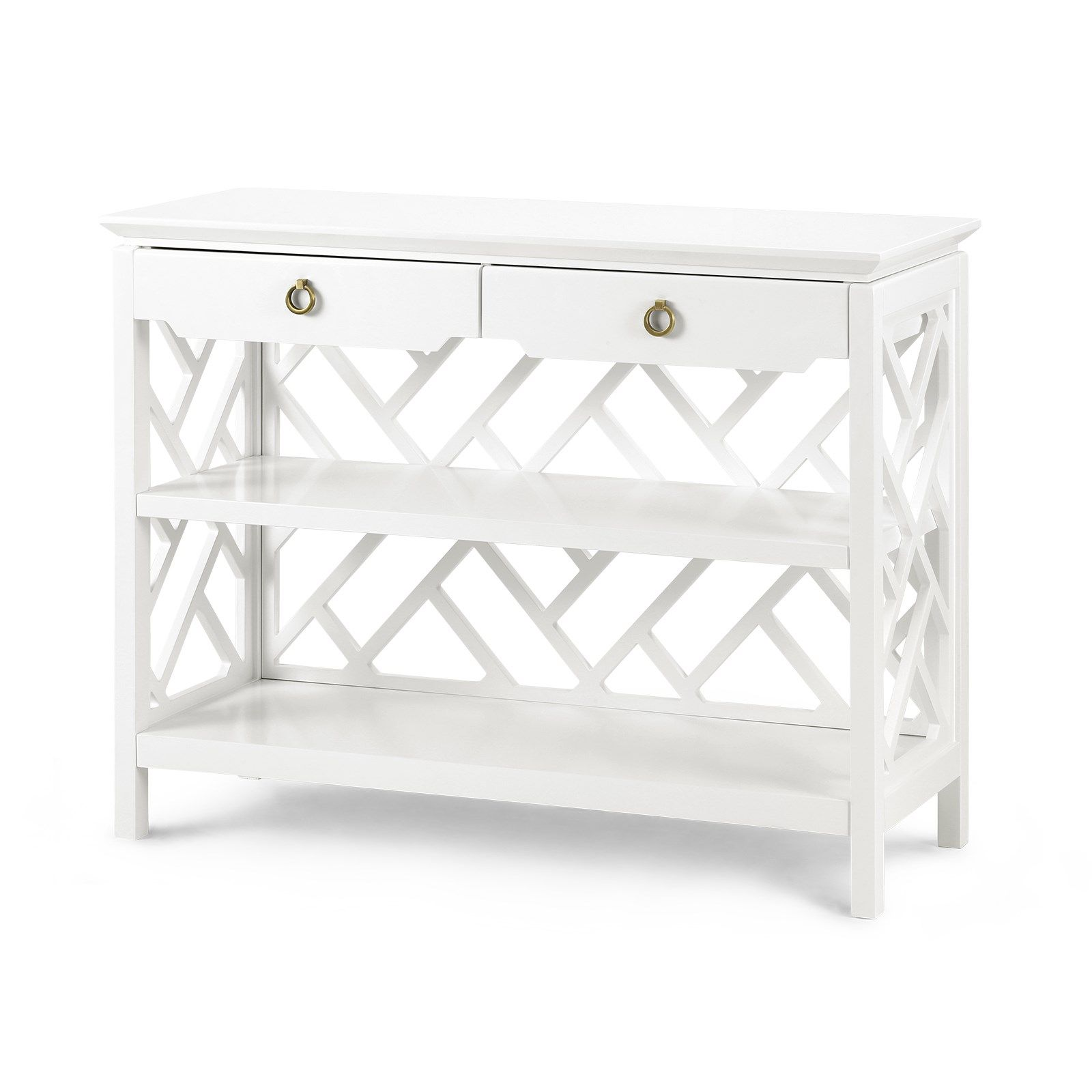 Will be in store soon Bungalow 5 Nantucket Console Table White