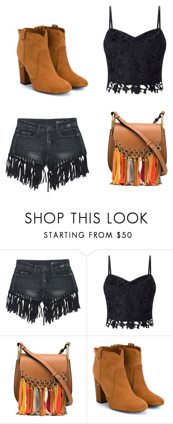 """""""À la marocaine"""" by morroquiina ❤ liked on Polyvore featuring Sans Souci, Lipsy, Chloé and Laurence Dacade"""