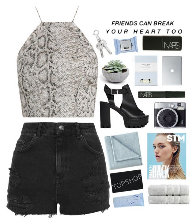 """""""Untitled #2257"""" by tacoxcat ❤ liked on Polyvore featuring Zimmermann, ASOS, Topshop, JCPenney Home, NARS Cosmetics, Laura Ashley, Omorovicza and Christy"""