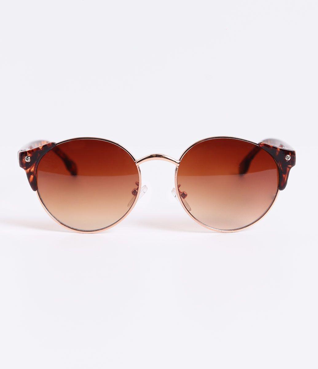Óculos de Sol Feminino Redondo - Lojas Renner   fashion 15361b1752