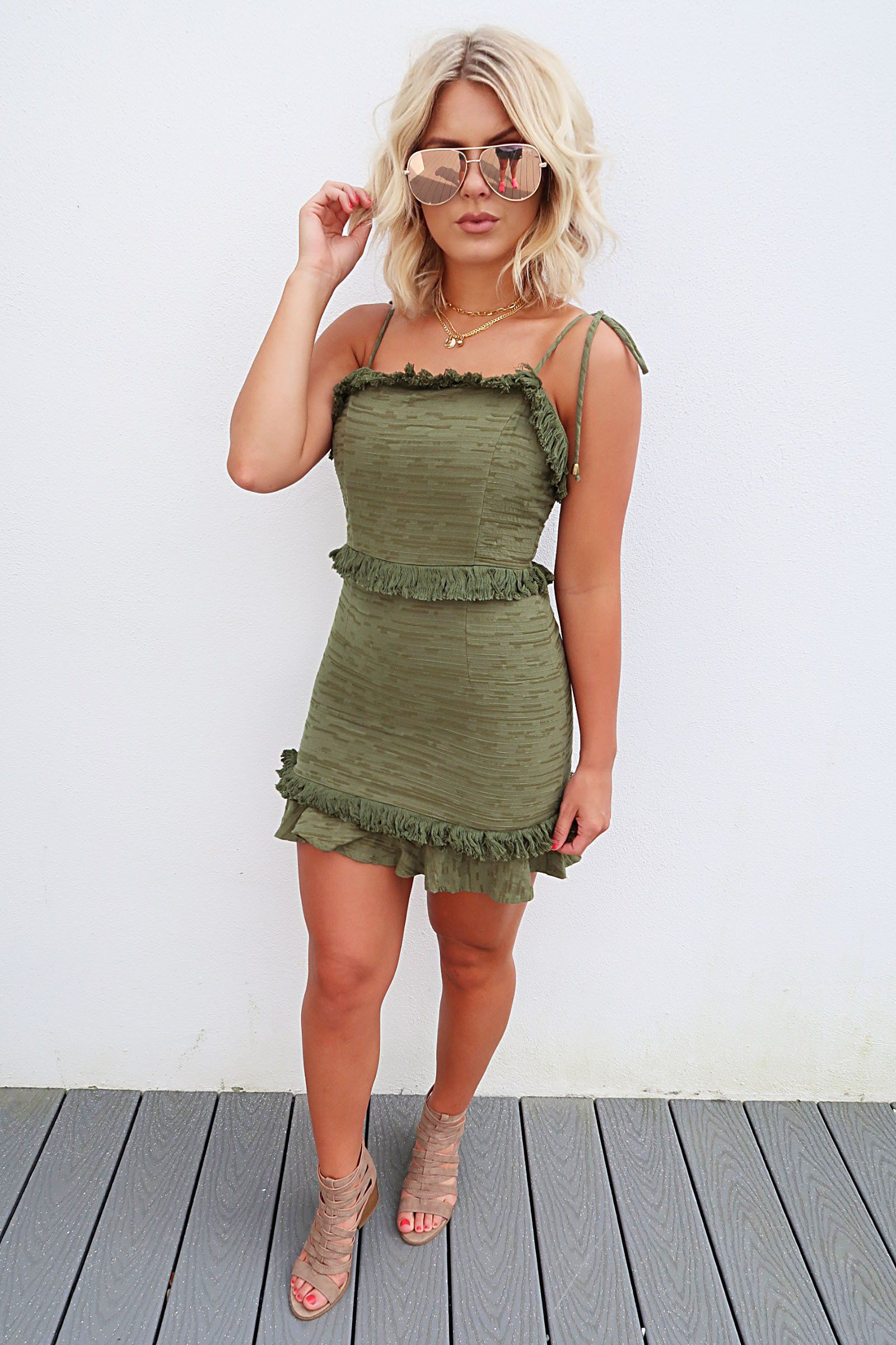 Share to save on your order instantly let me go dress olive